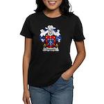 Migueis Family Crest Women's Dark T-Shirt