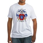 Migueis Family Crest Fitted T-Shirt