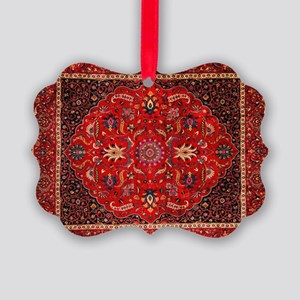 Persian Mashad Rug Picture Ornament