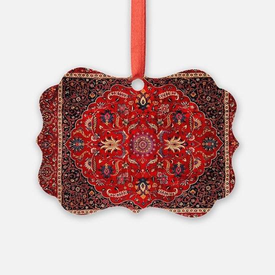 Persian Mashad Rug Ornament
