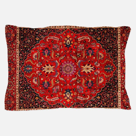 Persian Mashad Rug Pillow Case