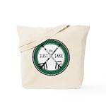 Just For Jake Logo - Green Tote Bag