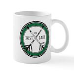 Just For Jake Logo - Green Mugs