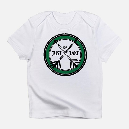 Just For Jake Logo - Green Infant T-Shirt