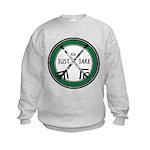 Just For Jake Logo - Green Sweatshirt