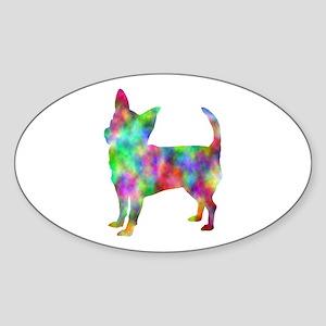 Multi Color Chihuahua Sticker