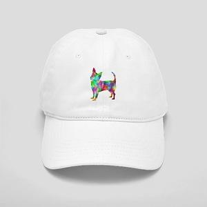 Multi Color Chihuahua Baseball Cap