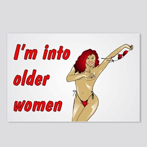 INTO OLDER WOMEN Postcards (Package of 8)