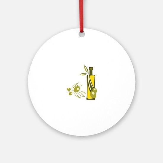 Olive Oil Ornament (Round)