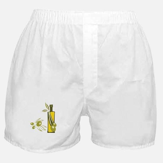 Olive Oil Boxer Shorts