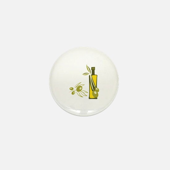 Olive Oil Mini Button