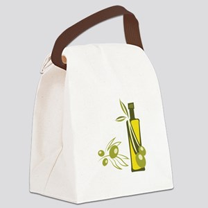 Olive Oil Canvas Lunch Bag