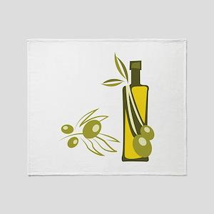 Olive Oil Throw Blanket