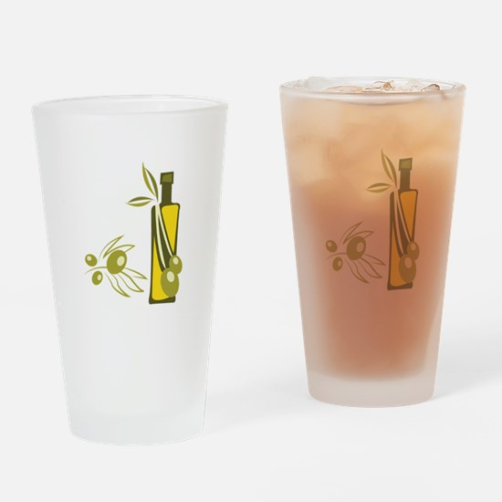 Olive Oil Drinking Glass