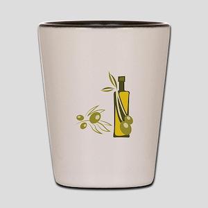 Olive Oil Shot Glass