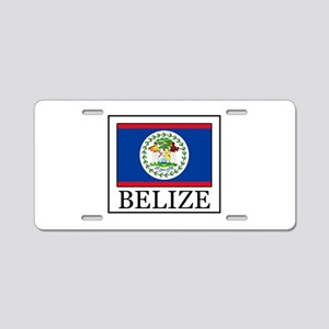 Belize Aluminum License Plate