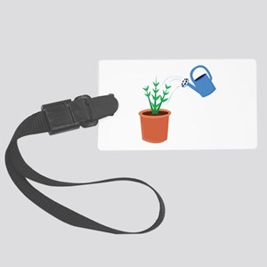 Water A Plant Luggage Tag