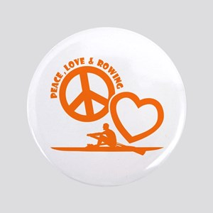 PEACE-LOVE-ROWING Button
