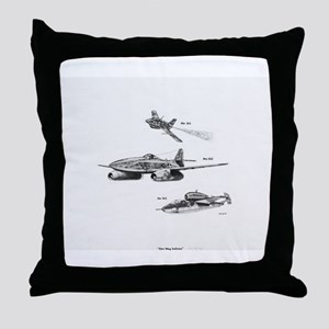 Messerschmitt Throw Pillow
