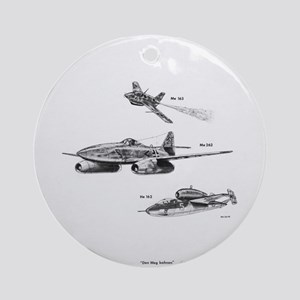 Messerschmitt Ornament (Round)
