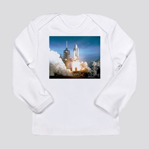 Space Shuttle Columbia KSC Long Sleeve T-Shirt