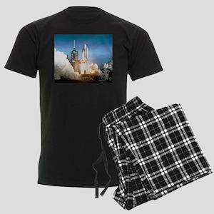 Space Shuttle Columbia KSC Men's Dark Pajamas