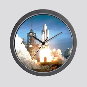 Space Shuttle Columbia KSC Wall Clock