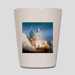 Space Shuttle Columbia KSC Shot Glass