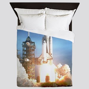 Space Shuttle Columbia KSC Queen Duvet