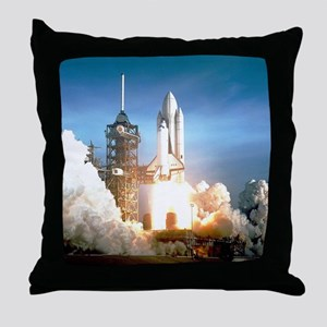 Space Shuttle Columbia KSC Throw Pillow