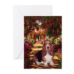 The Path & Basset Greeting Cards (Pk of 20)
