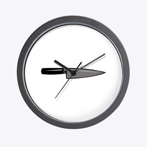 KNIFE Wall Clock