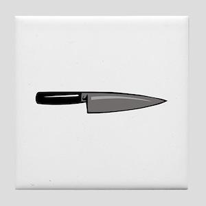 KNIFE Tile Coaster