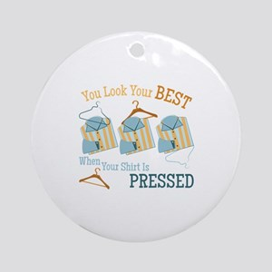Look Your Best Ornament (Round)