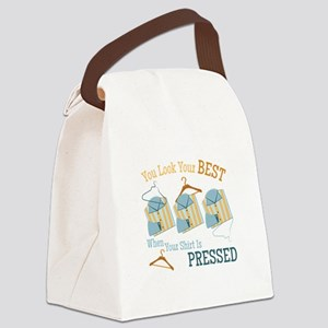 Look Your Best Canvas Lunch Bag