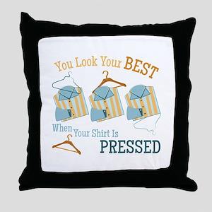 Look Your Best Throw Pillow