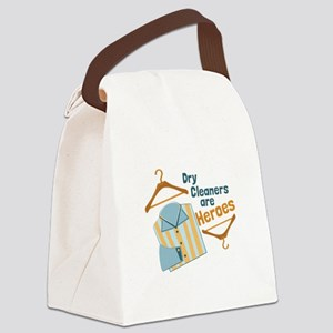 Dry Cleaners Canvas Lunch Bag