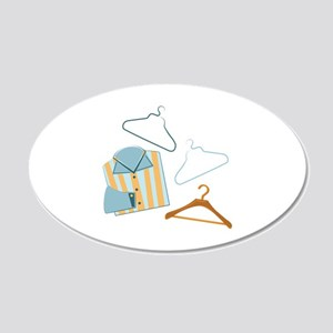 Shirt & Hangers Wall Decal