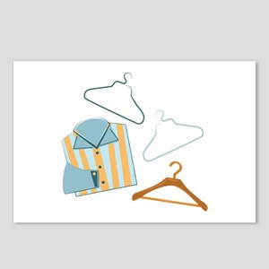 Shirt & Hangers Postcards (Package of 8)
