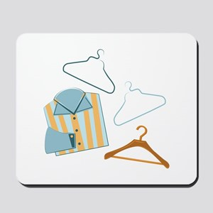 Shirt & Hangers Mousepad