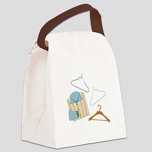 Shirt & Hangers Canvas Lunch Bag