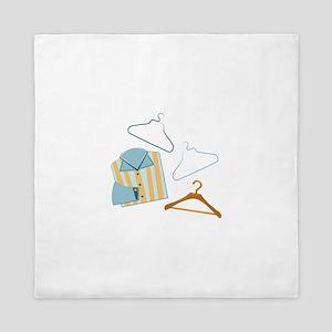 Shirt & Hangers Queen Duvet