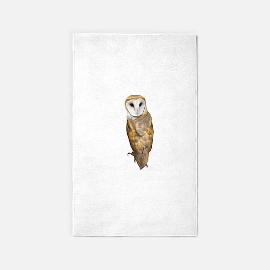 Barn Owl Area Rug