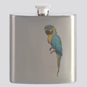 Blue Macaw Flask