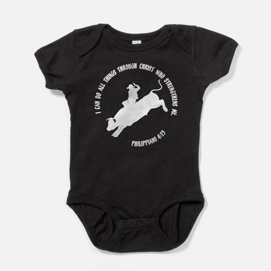 PHILIPPIANS 4:13 Baby Bodysuit