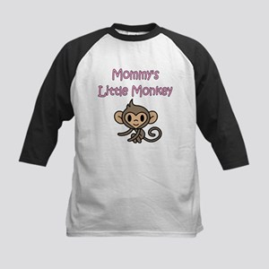 MOMMY'S LITTLE MONKEY Kids Baseball Jersey