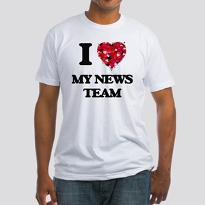 I Love My News Team T-Shirt