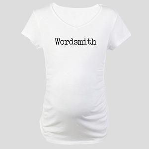 Wordsmith Maternity T-Shirt