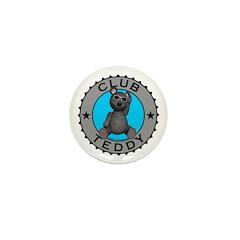 Club Teddybear Mini Button (10 pack)