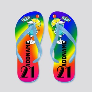 Sizzling 21st Flip Flops